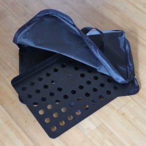 Tas kunststof in zwart voor muziek standaard gadgets voor gitaar en muziek