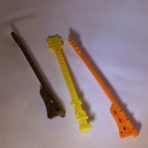 Vorm voor ijslolly en chocolade stokje in gitaar vorm gadgets voor gitaar en muziek cadeau