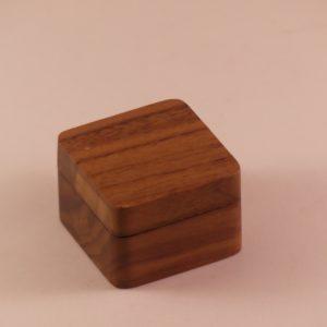 Houten doosje voor plectrums met magneetsluiting gadgets voor gitaar en muziek cadeau