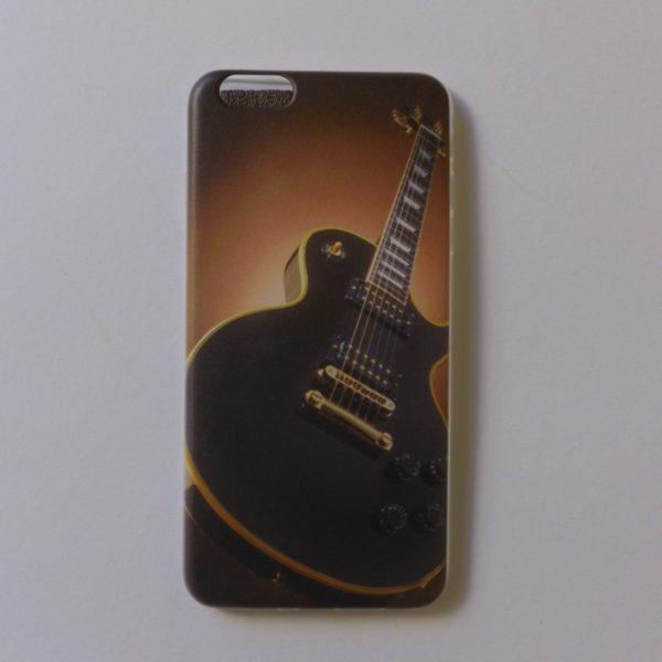 cover Iphone 6en6splus met prachtige gitaaropdruk