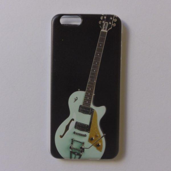 cover Iphone X met prachtige gitaaropdruk