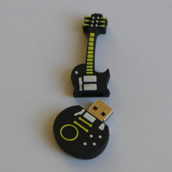 USB stick 32 Gb in de vorm van een gitaar