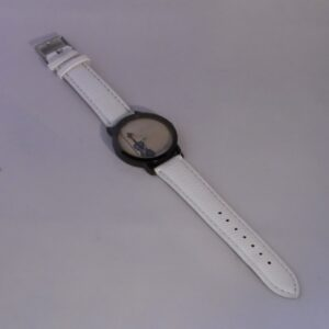 Horloge viool witte band