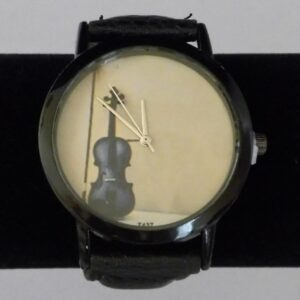 Horloge viool zwart