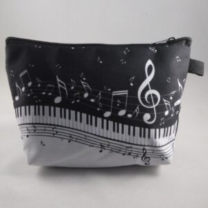 toilet of make-up tas muziek
