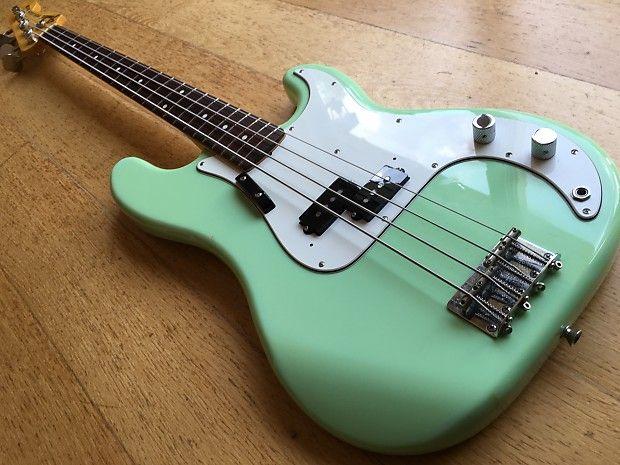 P-bass seafoam green