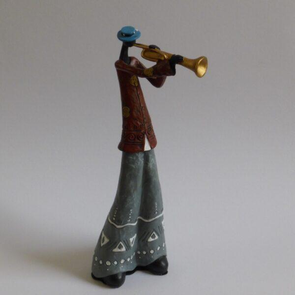 beeldje trompettist