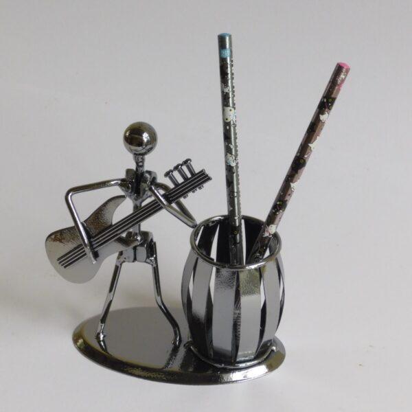 pennenbakje gitarist van verchroomd staal handgemaakt
